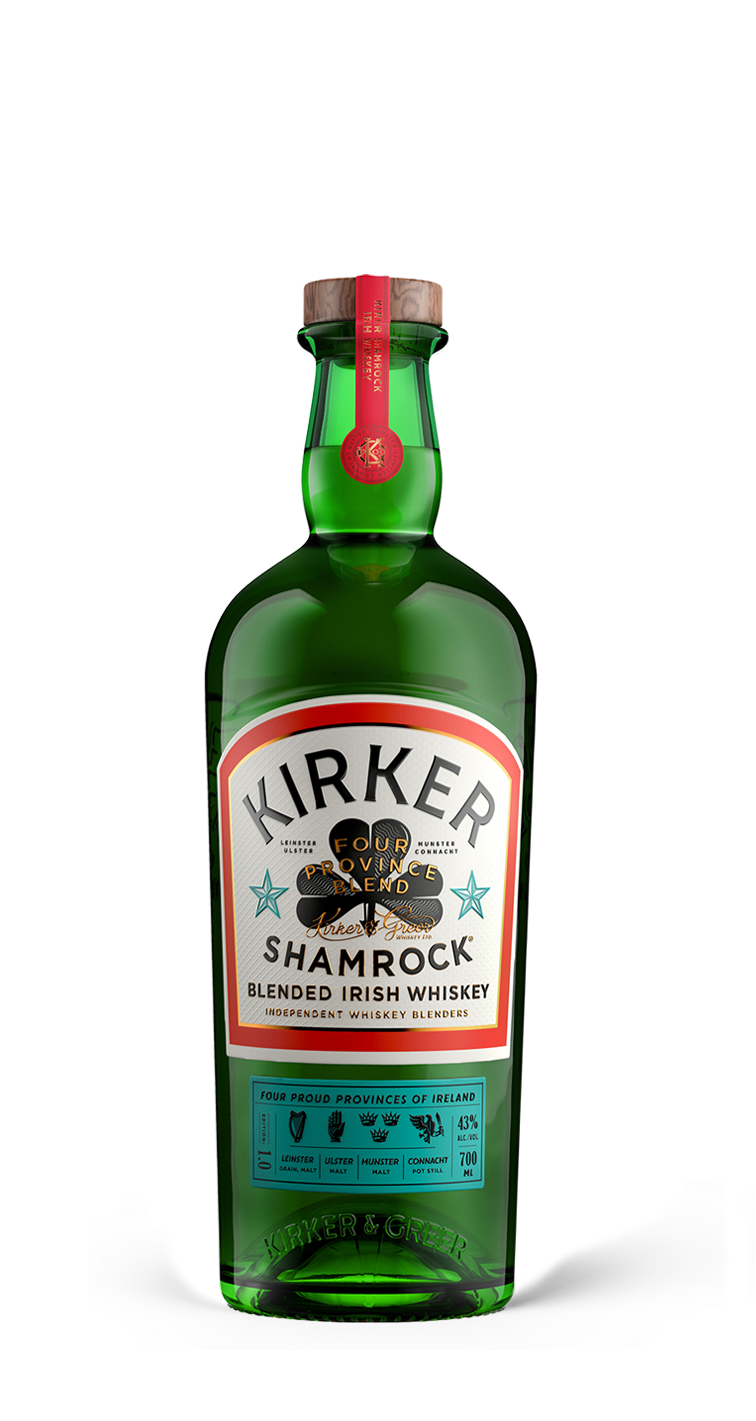 KIRKER SHAMROCK IRISH WHISKEY